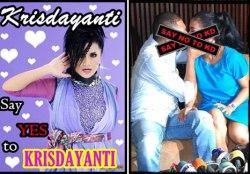Say yes to krisdayanti